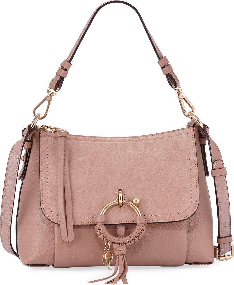 0cdf889fc6 See By Chloé Joan Small Mixed Leather Crossbody Bag - Mkt