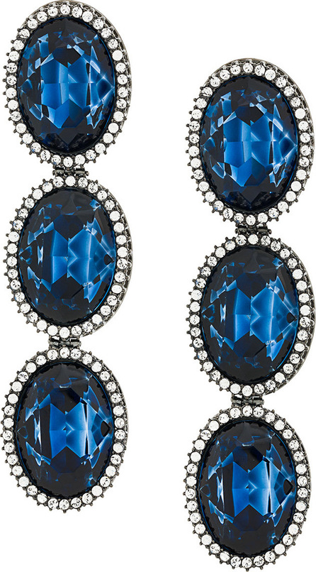 Stella McCartney Embellished stone earrings