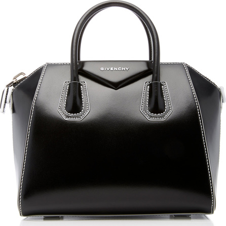 Givenchy Antigona Small Polished Leather Tote