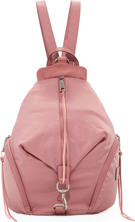 Rebecca Minkoff Washed Nylon Multi-Zip Backpack