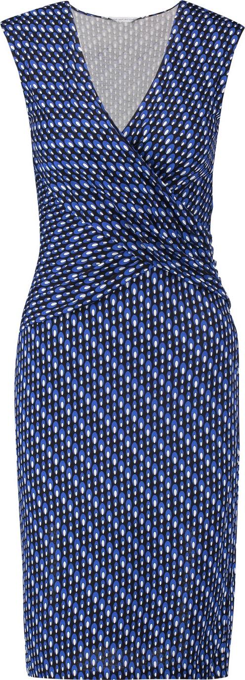 DIANE von FURSTENBERG - Wrap-effect printed silk-crepe dress