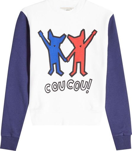 Etre Cecile Printed Cotton Sweat Top