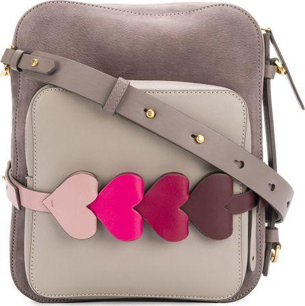 Anya Hindmarch contrast heart shoulder bag