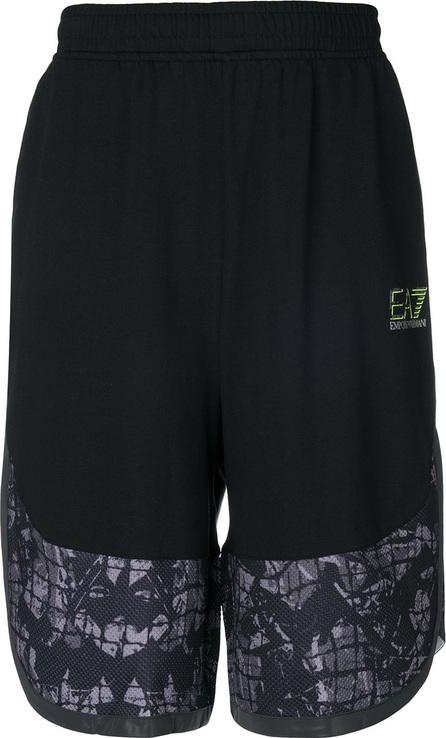 Ea7 Emporio Armani Elasticated waist shorts