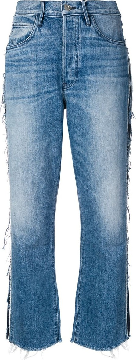 3X1 Side tape straight jeans