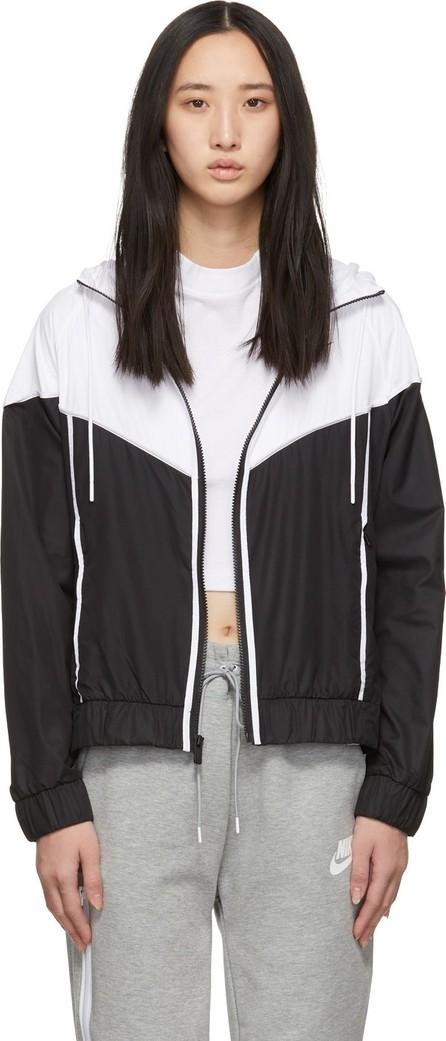 Nike Black & White Windrunner Jacket