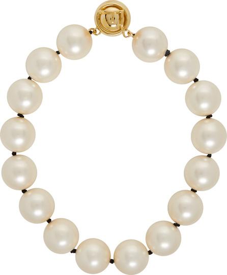 Fendi Pearl & Gold Choker Necklace