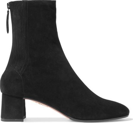 Aquazzura Saint Honoré suede sock boots