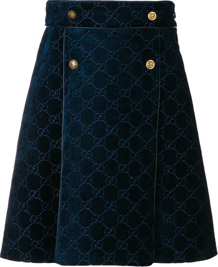 Gucci Velvet GucciGhost skirt
