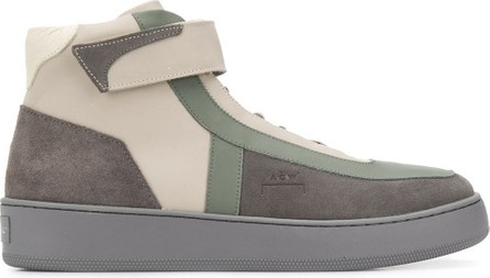 A-Cold-Wall* Suede panel high-top sneakers