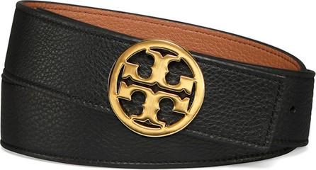 "Tory Burch Reversible 1.5"" Logo-Buckle Belt"