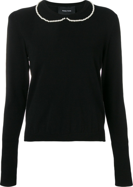 Simone Rocha Pearl embellished sweater