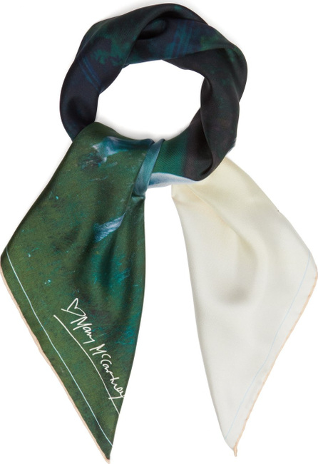Mary Mccartney Horse-print silk scarf