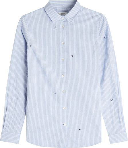 Closed Devin Embroidered Cotton Shirt