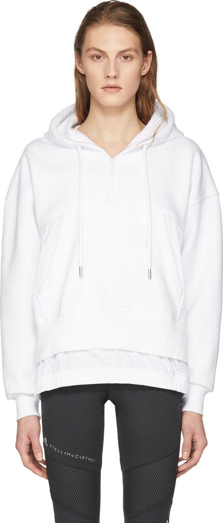 Adidas By Stella McCartney White Swim Warm-Up Hoodie