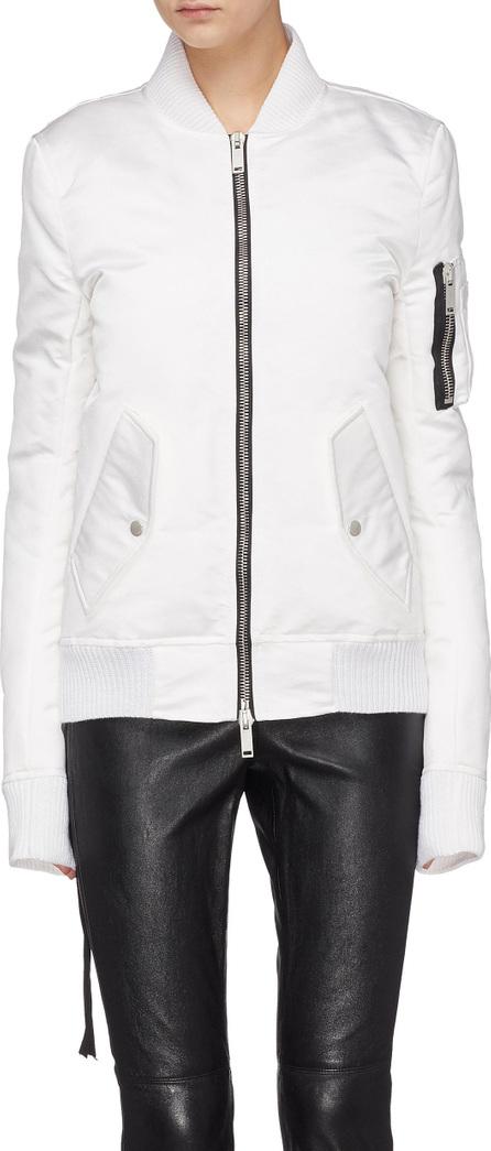 Ben Taverniti Unravel Project 'Tuxedo' silk bomber jacket