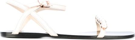 Anna Baiguera pearl sandals