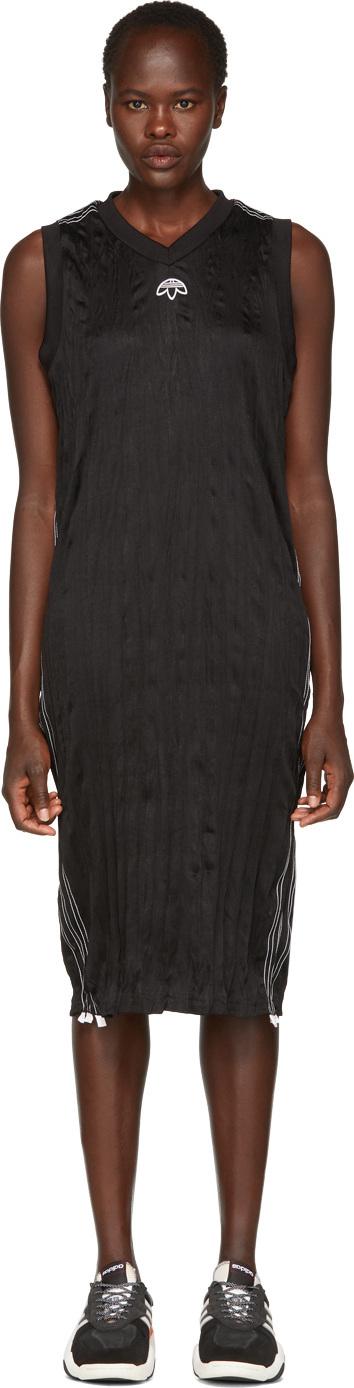 Adidas Originals by Alexander Wang Black Track Tank Dress