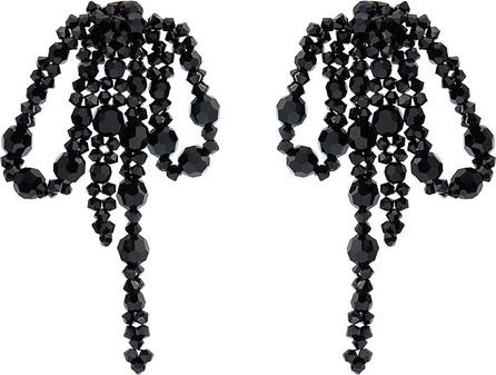 Simone Rocha Crystal embellished bow earrings