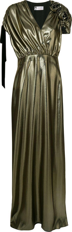 Lanvin Long metallic gown