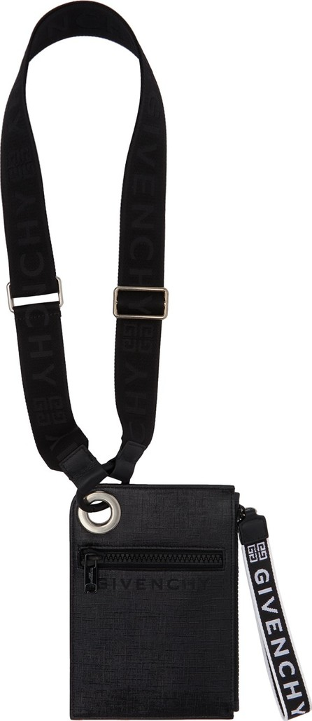 Givenchy Black Slim Jaw Crossbody Bag