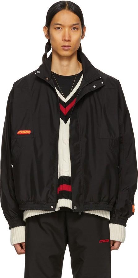 Heron Preston Black Windbreaker Jacket