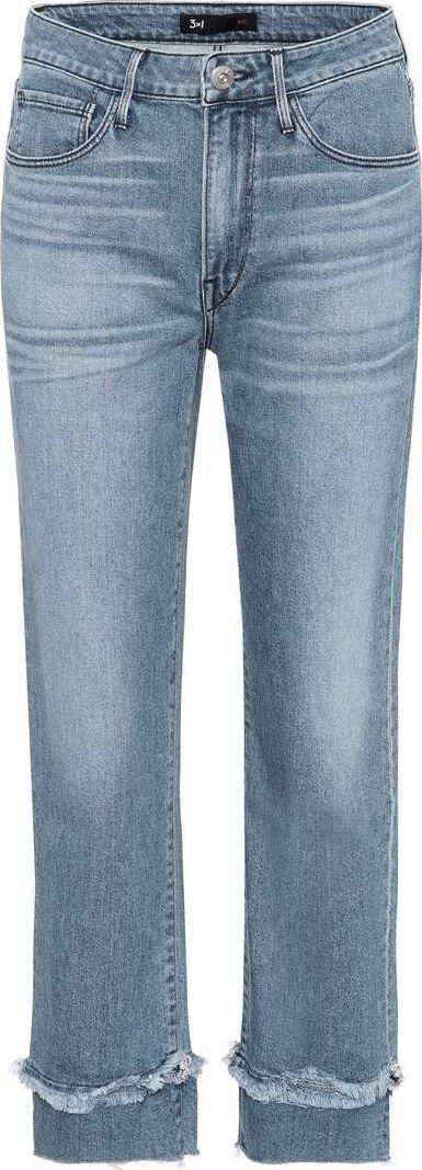 3X1 W3 Higher Ground Slim Crop jeans