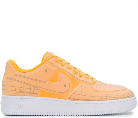 Nike Air Force 1 Schematic contrast panel sneakers