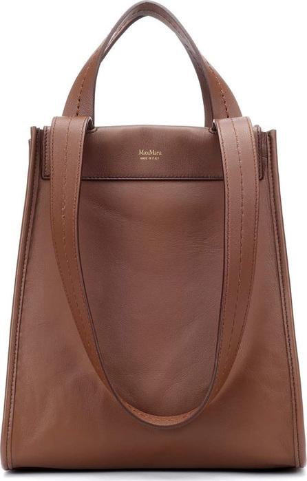 Max Mara Large reversible leather shopper