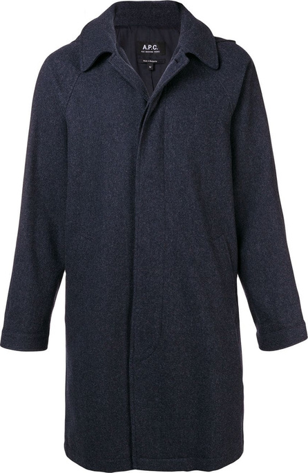 A.P.C. Single-breasted fitted coat