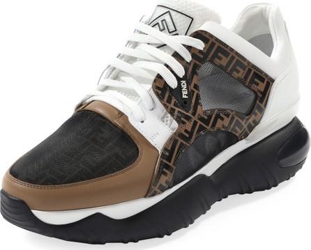 Fendi Men's Fancy Chunky Runner Sneakers