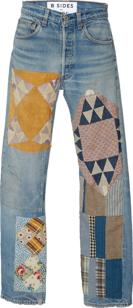 B Sides M'O Exclusive Mid-Rise Straight-Leg Jeans