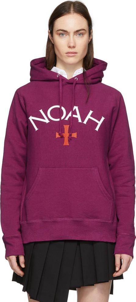 Noah NYC Pink Logo Hoodie
