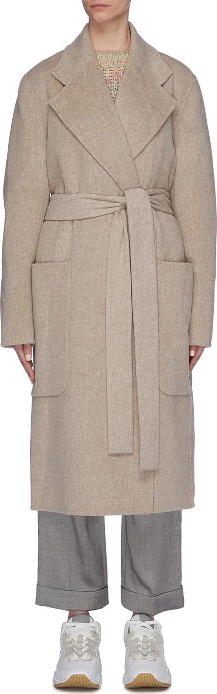 Acne Studios Sash tie oversized wool-cashmere coat