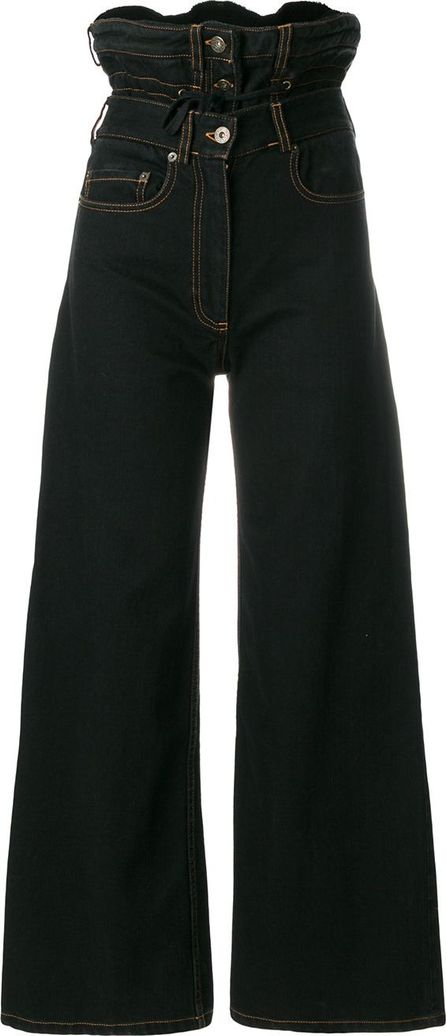 Y / Project high-rise wide jeans