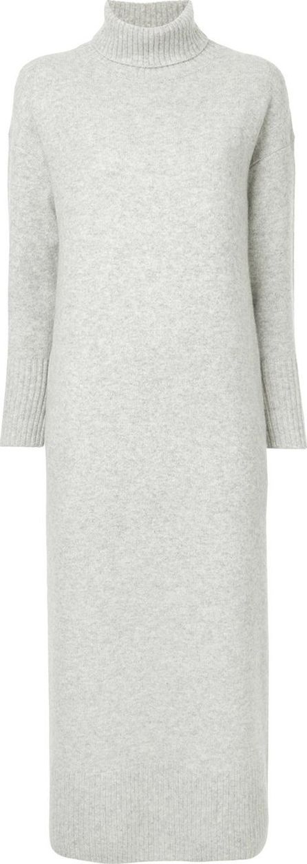 Estnation roll neck boxy sweater dress