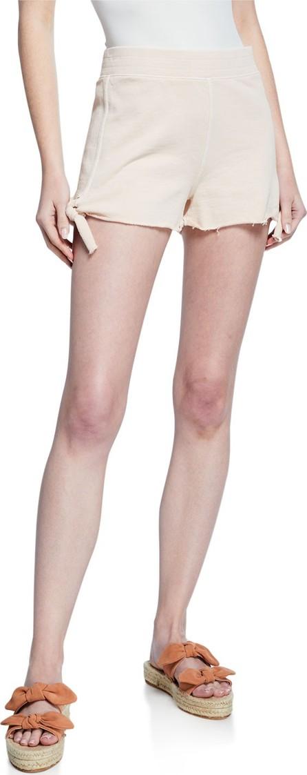 AMO Side-Tie Cotton Shorts