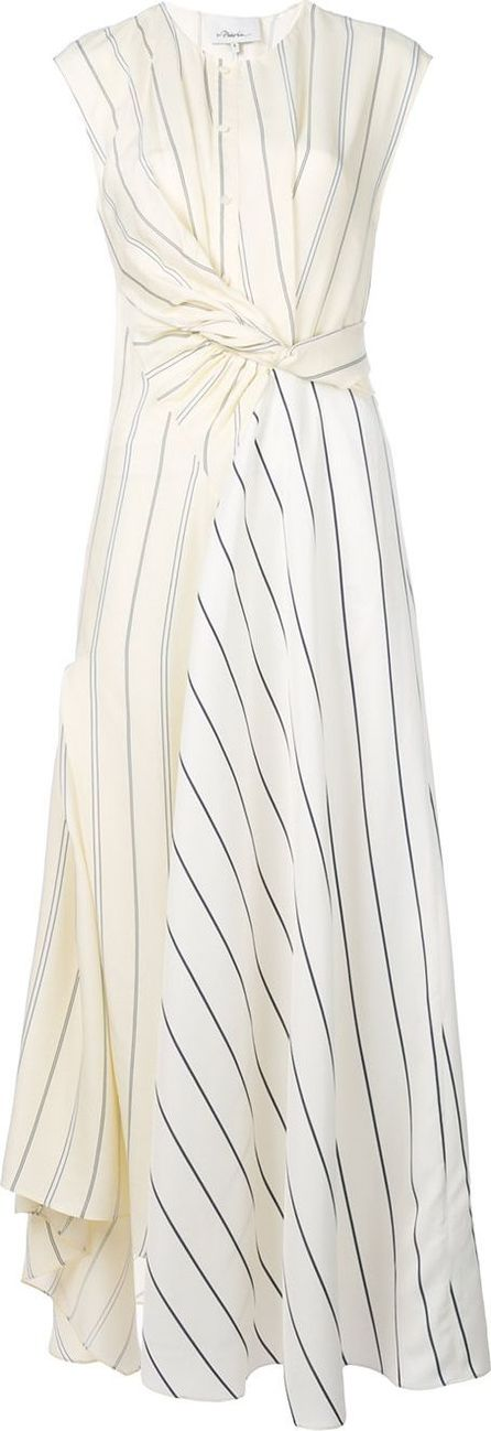 3.1 Phillip Lim Twisted Henley maxi dress