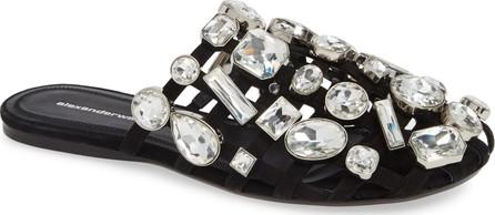 Alexander Wang Amelia Crystal Slide Sandal