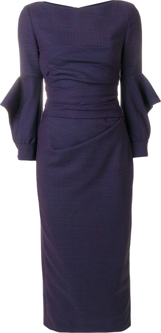 Talbot Runhof Fitted midi dress | mkt