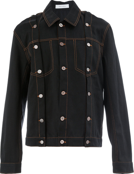 Delada Multi-button denim jacket