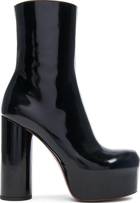 Vetements Leather Platform Boots