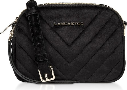 Lancaster Quilted Velvet Couture Mini Camera/Belt Bag