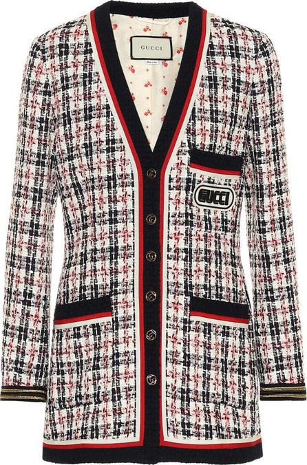 Gucci Plaid cotton-blend jacket