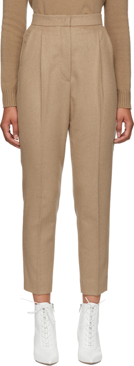 Max Mara Tan Olaf Trousers
