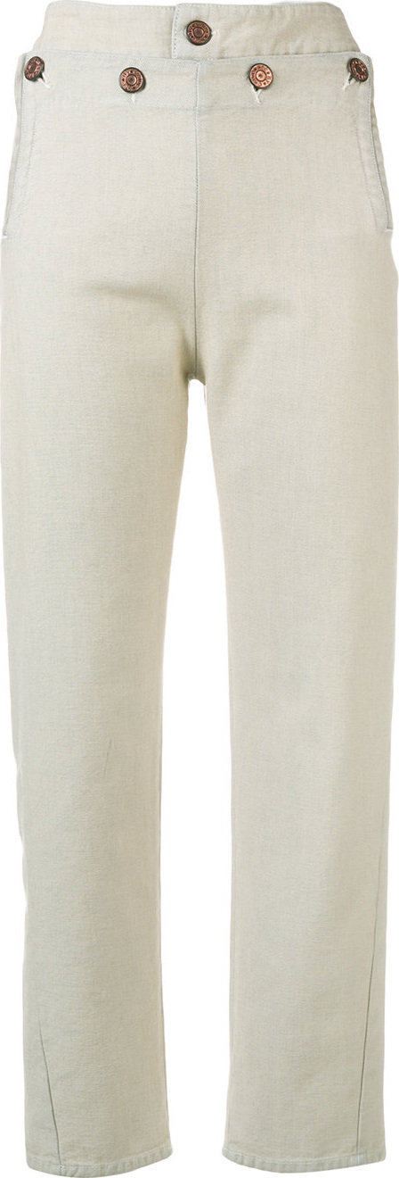 See By Chloé - Button detail trousers