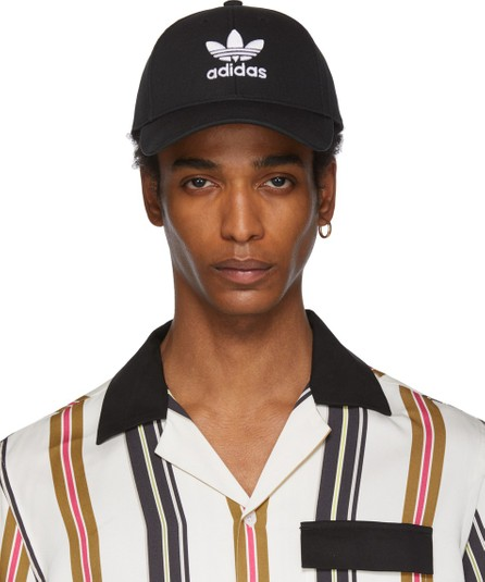 Adidas Originals Black Classic Trefoil Baseball Cap
