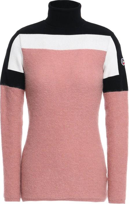 Fusalp Color-block knitted turtleneck sweater