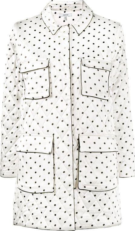 Ganni Leclair polka dot print jacket