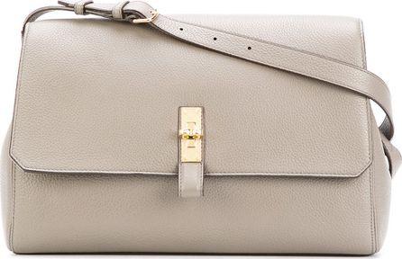 Bally plain satchel